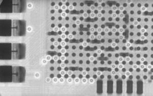 PCB assembly BGA X-ray