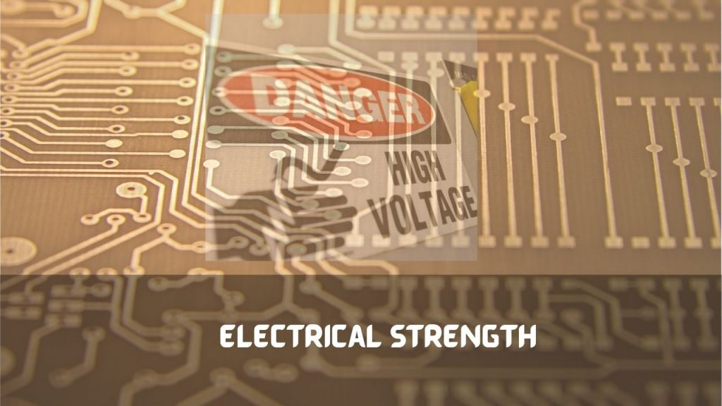 PCB material electrical strength