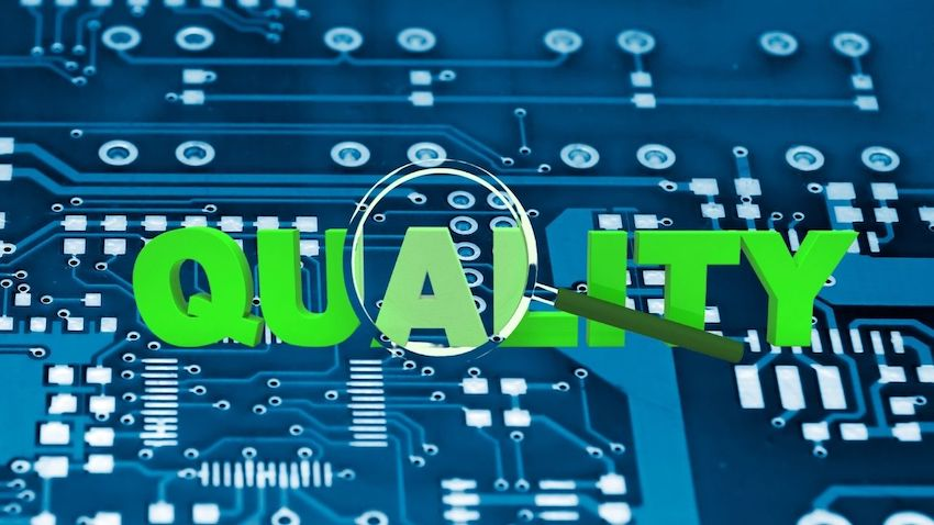 PCB manufacturing quality check