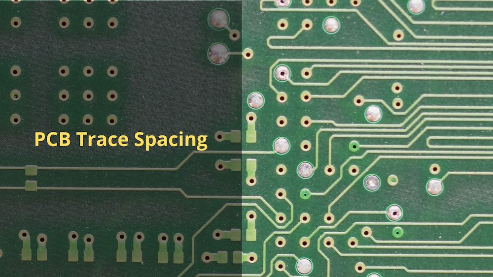 PCB trace spacing