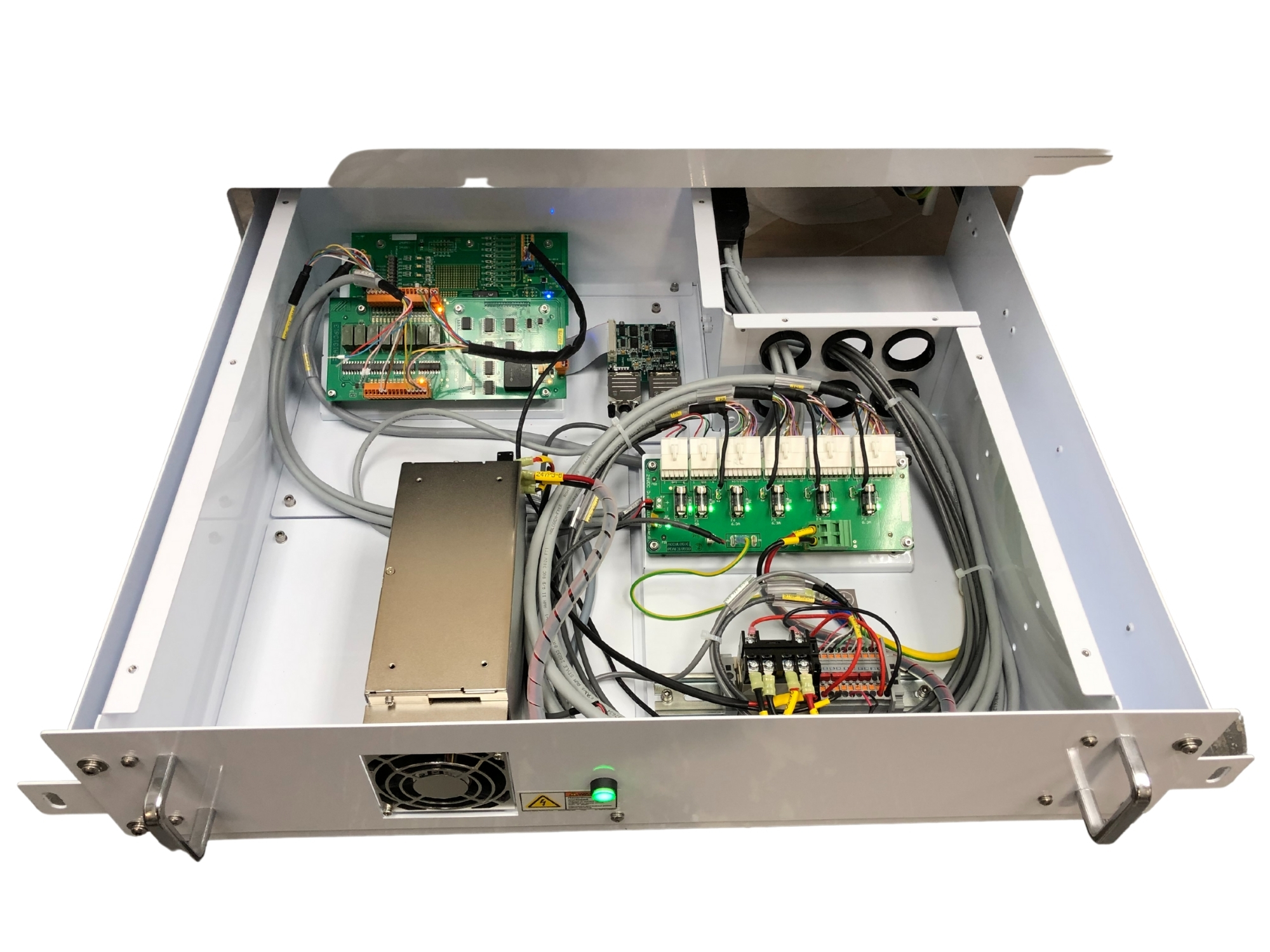 Electronic box build assembly services